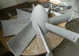 hovercraft duct stator