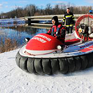 Rescue hovercraft MAD-81L