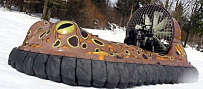 Frog looking bufocraft hovercraft